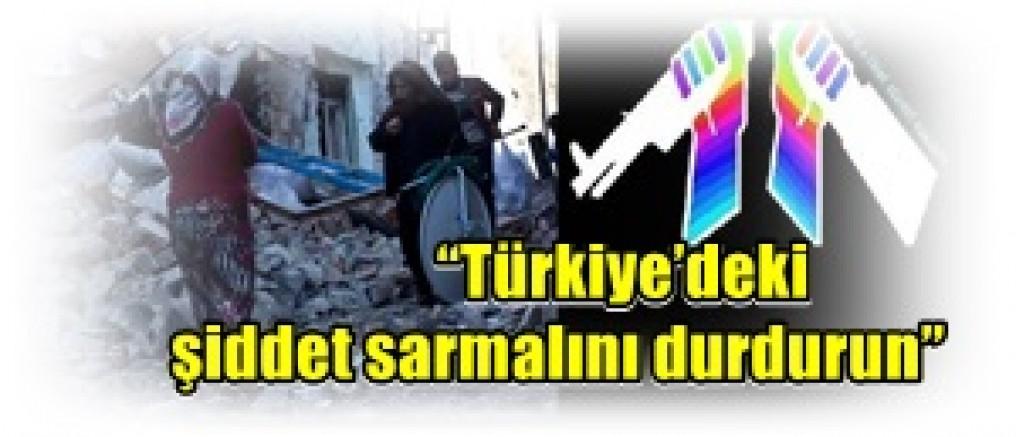 Uluslararası Savaş Karşıtları (WRI), çarşamba günü Brüksel'de yayımladığı Türkiye raporu