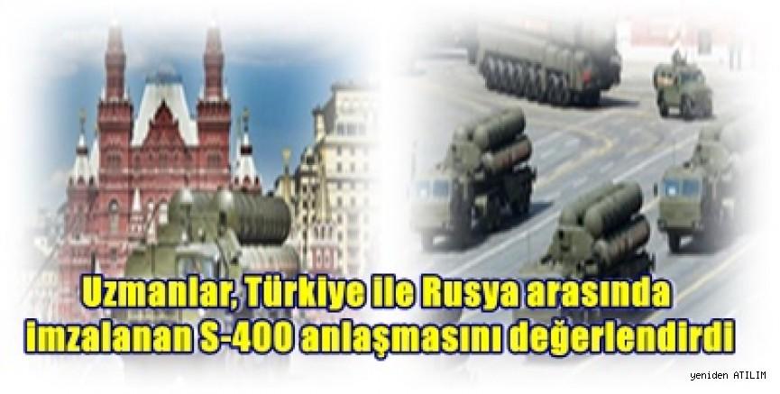 Uzmanlar, 'Türkiye S-400'leri, ABD ve NATO müttefiklerine karşı bir koz olarak kulanıyor '