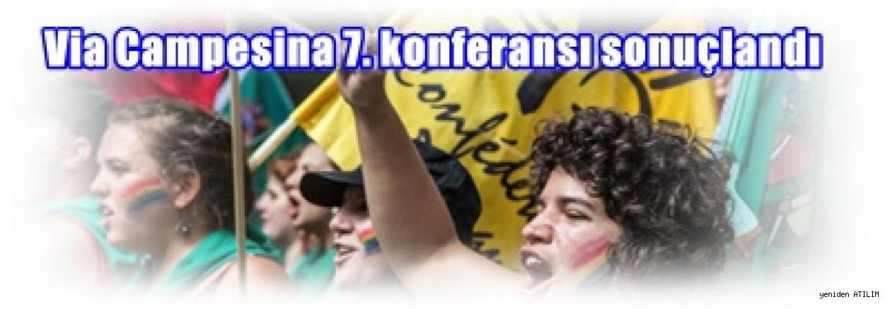 Via Campesina 7. konferansı sonuçlandı: Bask Ülkesi Deklarasyonu