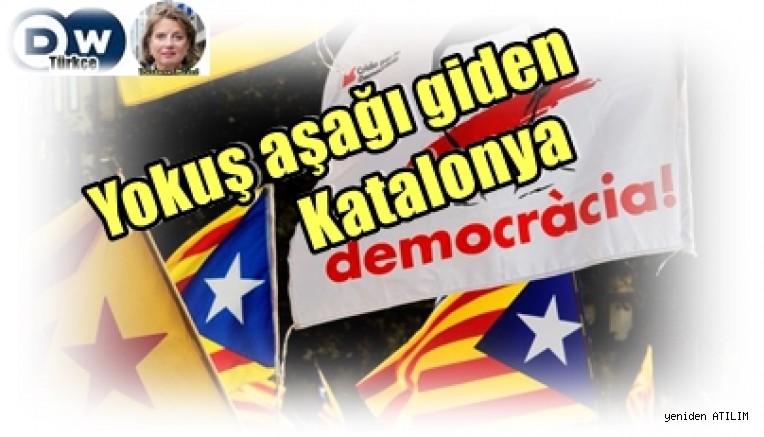 Yokuş aşağı giden Katalonya